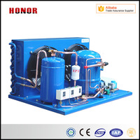 Type Of Display Cold Room Refrigeration Compressor Condensing Units For Food Freezing