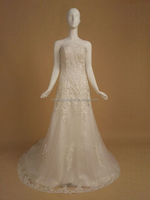 RR15930 Suzhou White Or Ivory Cheap Wedding Dress Sale Made In China