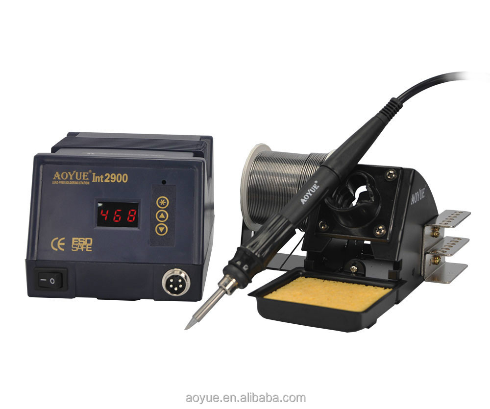 digit display soldering station Aoyue INT2900 lead free Soldering Station