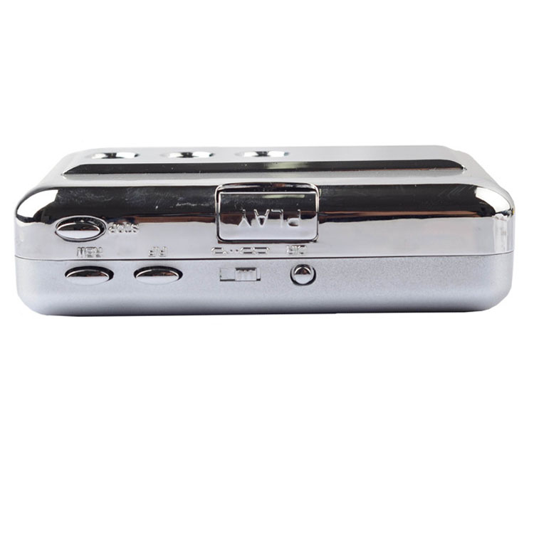 ezcap218B USB Audio Cassette Tape Converter to MP3 CD Player PC cassette player with auto reverse