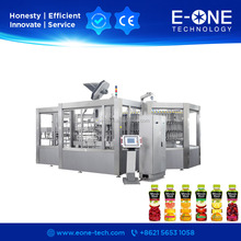 Economy Type Beverage Juice Can Filling Machine / Production Line