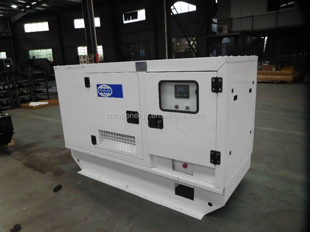 Water Cooled Three phase 12kw/15kva FG Wilson Diesel generator set 404D-22G with low fuel consumption