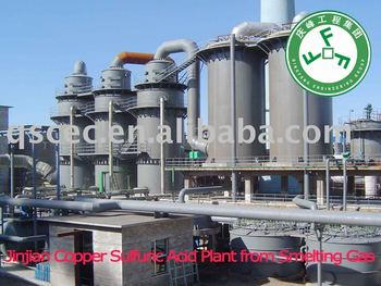 Sulfuric Acid Plant Based on Offgas Recovery from Copper smelting