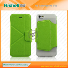 cross pattern folds transformers cover case for iphone5/5s