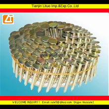 1-1/4 in galvanized roofing nail, coil nails roofing