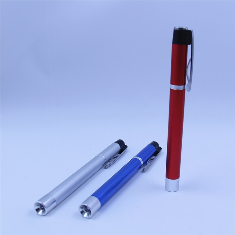 China Manufacturers Mini School Eco-friendly Metal led Pen Light