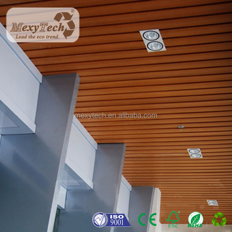 Guangdong Foshan office application composite wood ceiling design