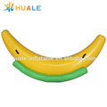 Hot sale banana inflatable totter/rocker inflatable pool toy for water parks