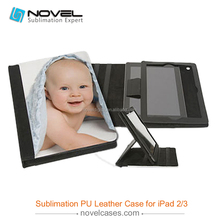 Sublimation Printing Leather Tablet Case Cover For iPad 2/3/4