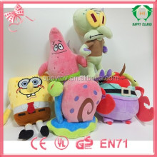 HI CE Sponge bob plush toy,cute Sponge bob stuffed plush toy,movie plush toy