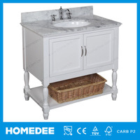 Hot Sale Solid Wood Portable Bathroom Cabinet