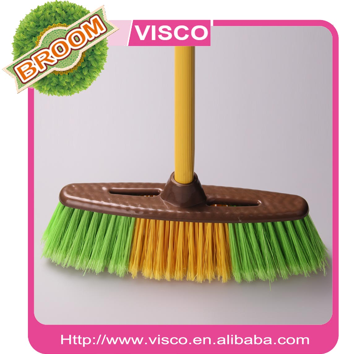 China wholesale plastic brooms manufacturer PC31102G
