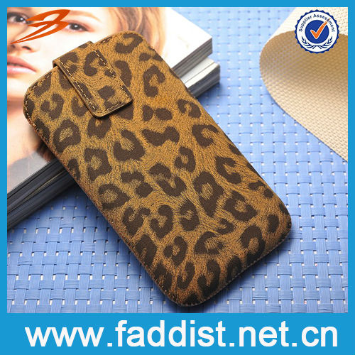Fashion Stitch Case for Samsung Galaxy s3 Leopard Pattern