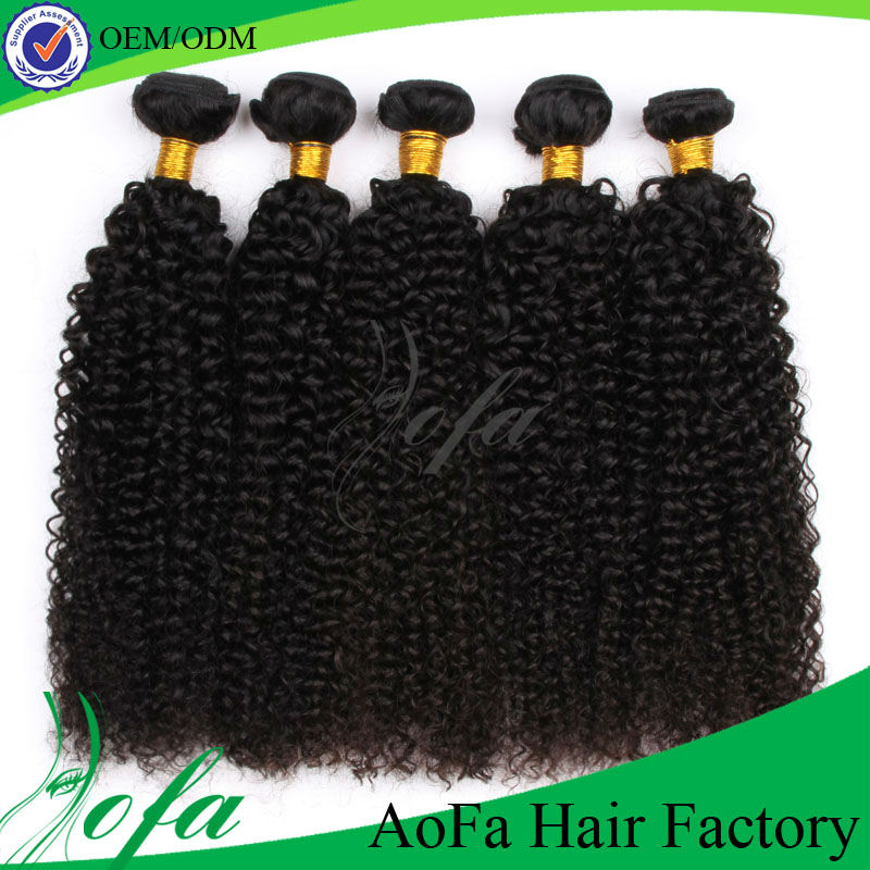 12-36 inch Abundant stock 100% brazilian curly hair weave