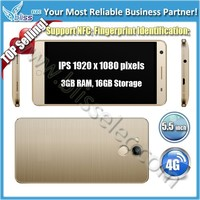 China supplier offer 4G GPS NFC 3GB RAM 5.5 inch android phone mobile