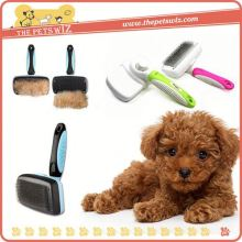 Slicker brush for dog ,CC098 2012 new fashion 3 in 1 pet dog tooth brush for sale