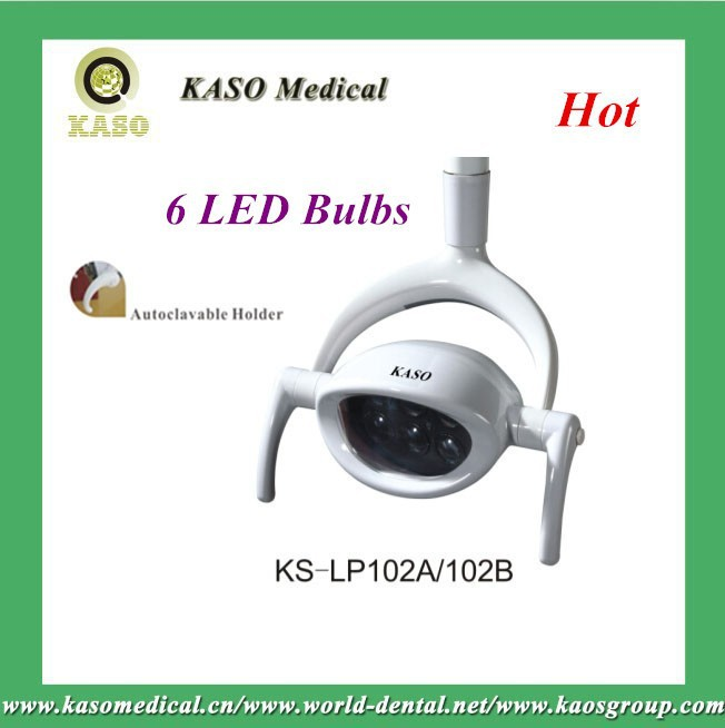 KASO Medical New Year hot sell LED Light KS-LP102A&102B/Superior quality with 6 bulbs/Dental equipment
