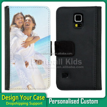 Protective Custom 2D Sublimation Phone Cases Leather Flip Case Cover for iPhone 5S