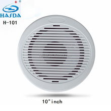 "Watertight marine sound speaker audio of mp3 FM bluetooth play 10"" inch for atv yacht powersports golf cart"