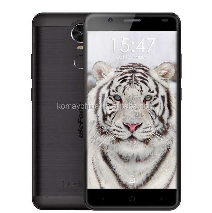 KOMAY 2017 new products 4200mAh Fingerprint 5.5 inch Android 6.0 OS MT6737 Quad Core 1.3GH Ulefone Tiger 4G smartphone