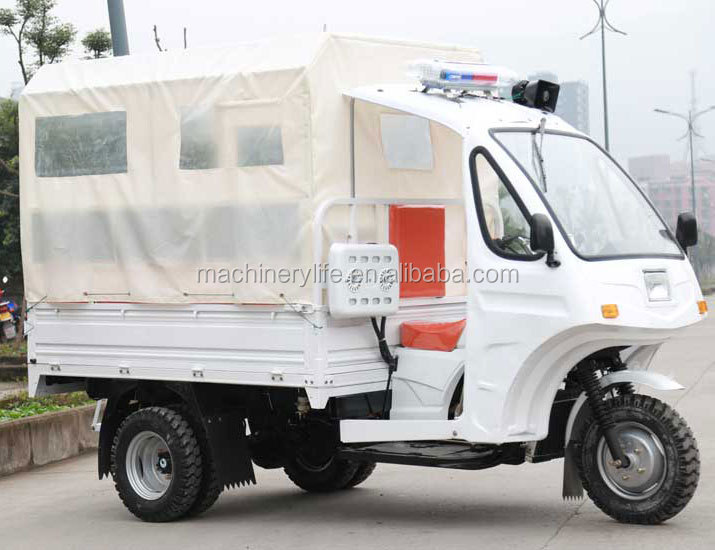 Special Use Cheap Simple Medical Treatment Ambulance Tricycle Three Wheel Motorcycle