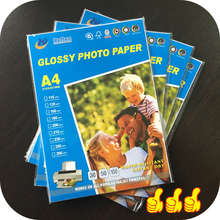 Best selling High quality A4 size 180G Full Color High Glossy Inkjet Photo Paper A4