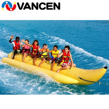 Water park use commercial amusement big flying fish banana boat inflatable