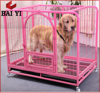 Beautiful Outdoor Square Tube Dog Cages Display