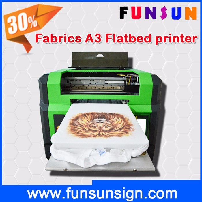 High quality DTG printing digital t shirt printer, direct to garment print machine