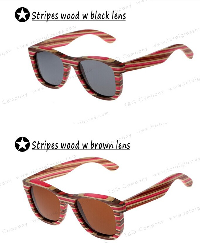 Hot sell bamboo and wood floating polarized lens sunglasses