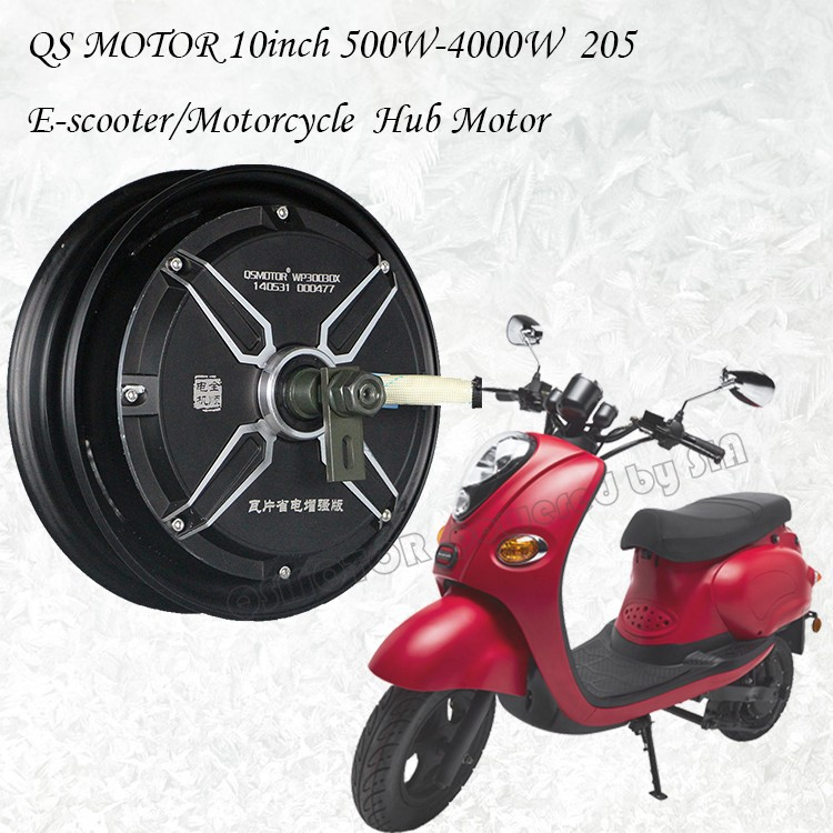 QS Motor 10inch 500W-4000W 205 Electric Scooter Motorcycle Hub Motor List
