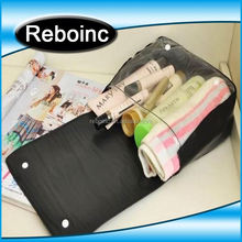Eco-friendly new design clear pvc cosmetic pouch for promotion