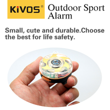KiVOS functional Anti Lost Security personal Alarm for Children elderly disabled person