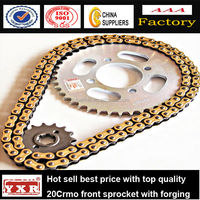 Parts for Shineray, motorcycle sprocket set,150cc motorcycles