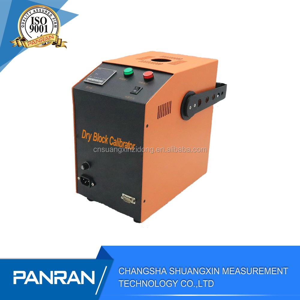 dry block calibrator calibration of electrical test equipment