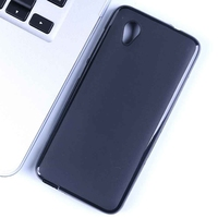 Ultra-thin slim black matte soft gel pudding case tpu back cover for Vodafone Smart E9 case