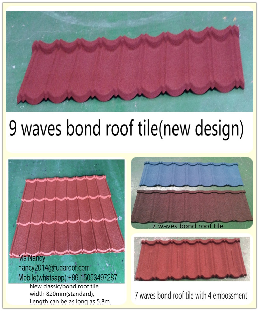 Best price stone coated metal roof tiles/roof sheet/ roof panels