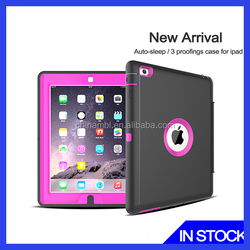 Portable PU Protective Table Case With Screen Protector For Ipad mini
