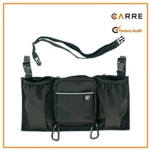 unique double wide Bottles N Bags Stroller Organizer