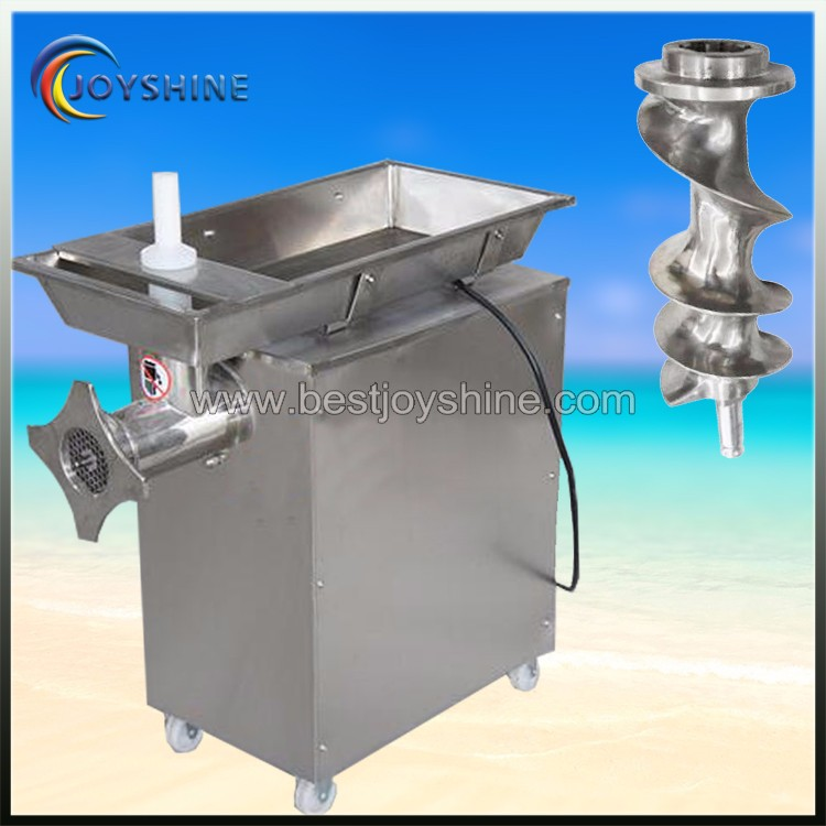 Stainless steel 2.2kw electric meat mincer