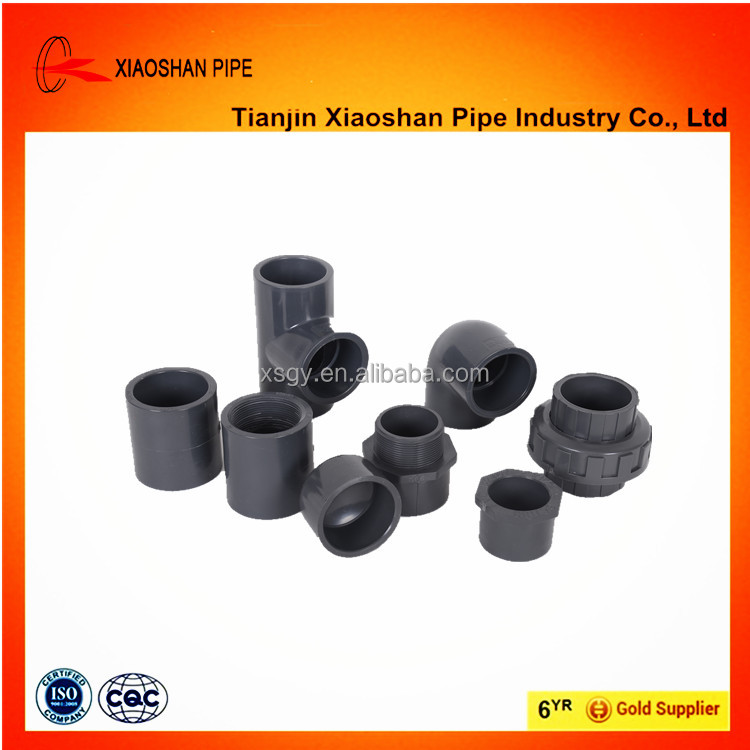 astm sch40 telescoping pvc pipe fitting and pvc pipe for supply