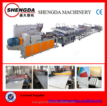 PVC foam board making machine pvc extrusion machine