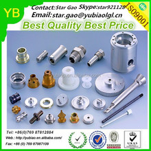 ISO9001 certified oem precision cnc milled parts, cnc turned components manufacturer