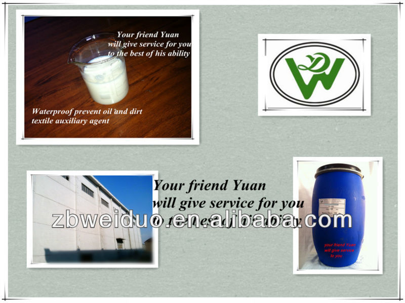 Textile water and oil repellent agent from Zibo
