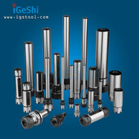 IGeShi manufacturing C16 C20 C25 ER extension straight shank collet chuck, straight shank tool holder