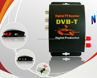 HD 140-190KM/H Digital TV Receiver DVB-T,DVB-T Set Top Box,DVB-T Dual Tuner,HD 140-190KM/H 2 Tuner Car DVB-T MPEG-4