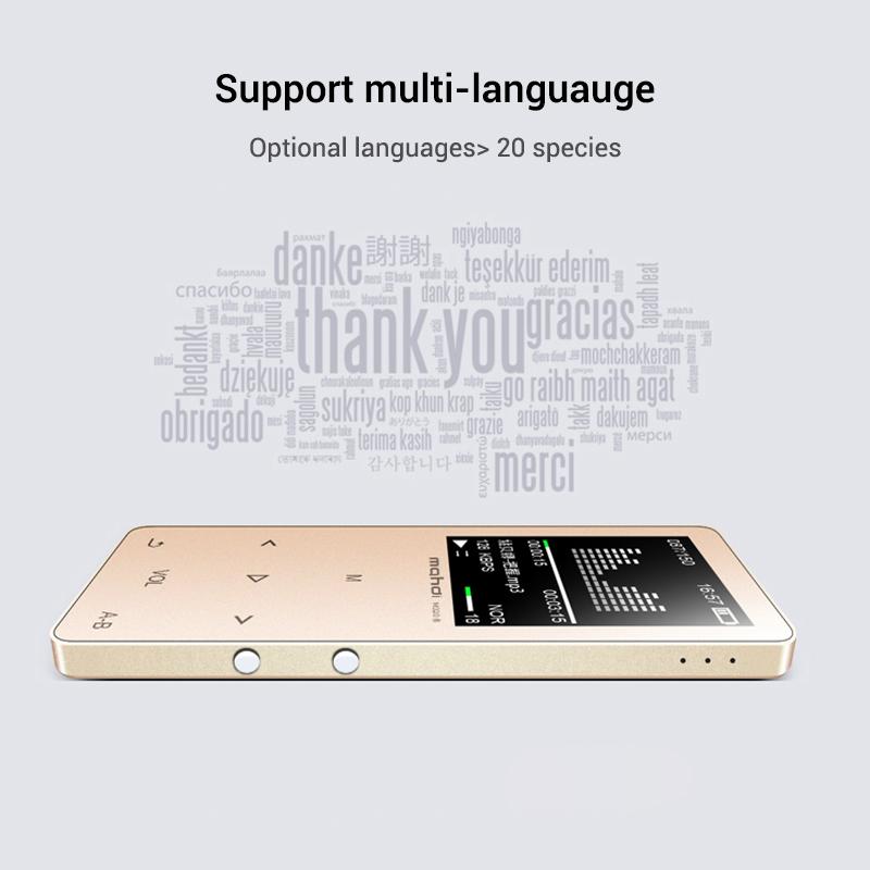 Mahdi M320 Hifi Lossless Music Bluetooth MP3 Player 1.8 TFT Screen 8GB Memory Multifunction MP3 Player Support FLAC ALAC Format (18)