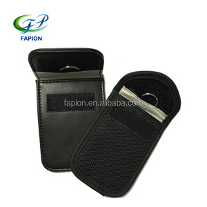 RF isolation RFID blocking key fob pouch