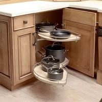 Soft Closing Doors Maple Birch Solid Wood Kitchen Cabinet(sapiential )