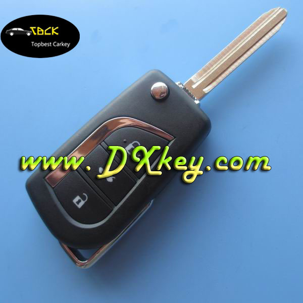 3 buttons 315 mhz remote control key without chip for toyota camry remote control